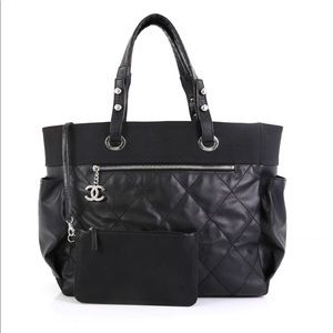 Authentic Chanel Biarritz Large Tote